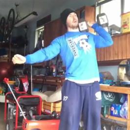 Nick Horowski Strongman 112 Max Effort Upper Body
