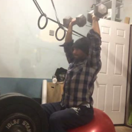 Nick Horowski Strongman 115 Max Effort Upper Body