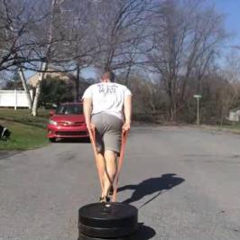 Nick Horowski Strongman 117 Max Effort Lower Body