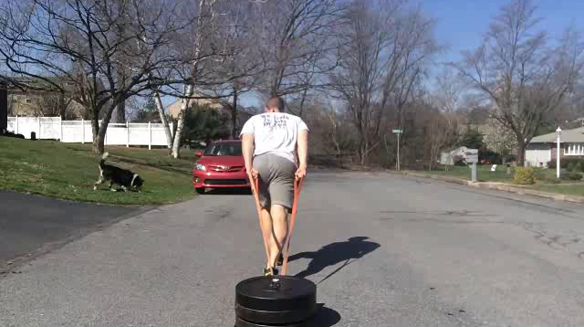 Nick Horowski Strongman 117 Max Effort Lower Body