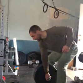 Nick Horowski Strongman 118 Max Effort Upper Body