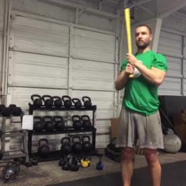 Nick Horowski Strongman 120 Dynamic Effort Lower Body