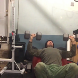 Nick Horowski Strongman 122 Max Effort Upper Body