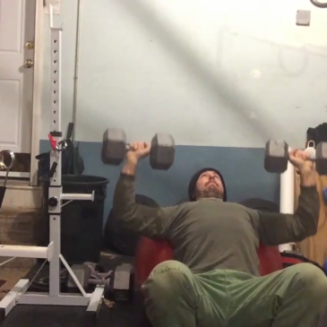Nick Horowski Strongman 122 Max Effort Upper Body