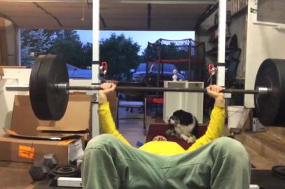 Nick Horowski Strongman 127 Upper Body Training