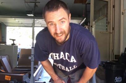 Nick Horowski Strongman 128 Lower Body Training