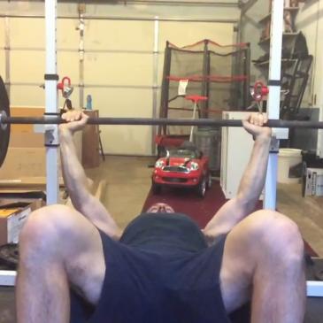 Nick Horowski Strongman 129 Upper Body Training