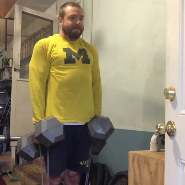 Nick Horowski Strongman 133 Upper Body Training