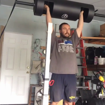Nick Horowski Strongman 134 Upper Body Training