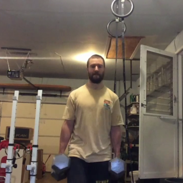 Nick Horowski Strongman 135 Lower Body Training