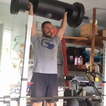 Nick Horowski Strongman 139 Upper Body Training