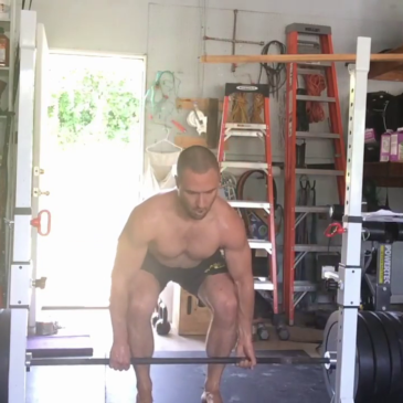 Nick Horowski Strongman 144 Deadlift Training