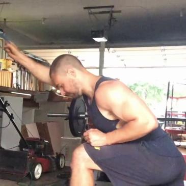 Nick Horowski Strongman 145 Upper Body Training