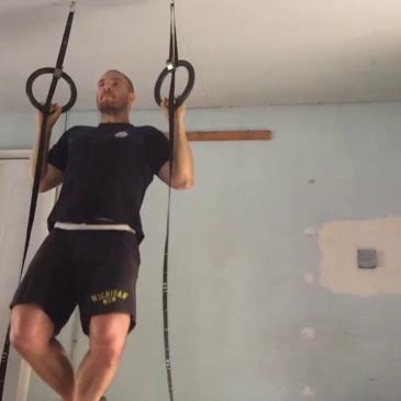 Nick Horowski Strongman 146 Squat Training