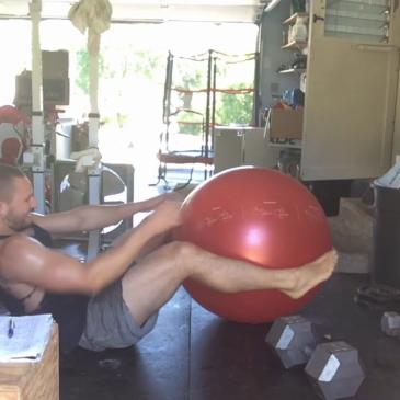 Nick Horowski Strongman 148 Deadlift Training
