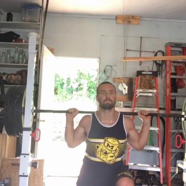 Nick Horowski Strongman 151 Squat Training
