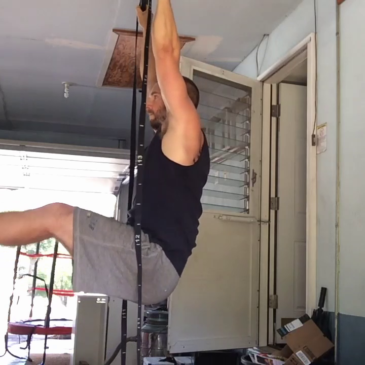 Nick Horowski Strongman 152 Deadlift Training
