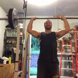 Nick Horowski Strongman 153 Upper Body Training