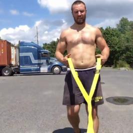 Nick Horowski Strongman 154 Strongman Training