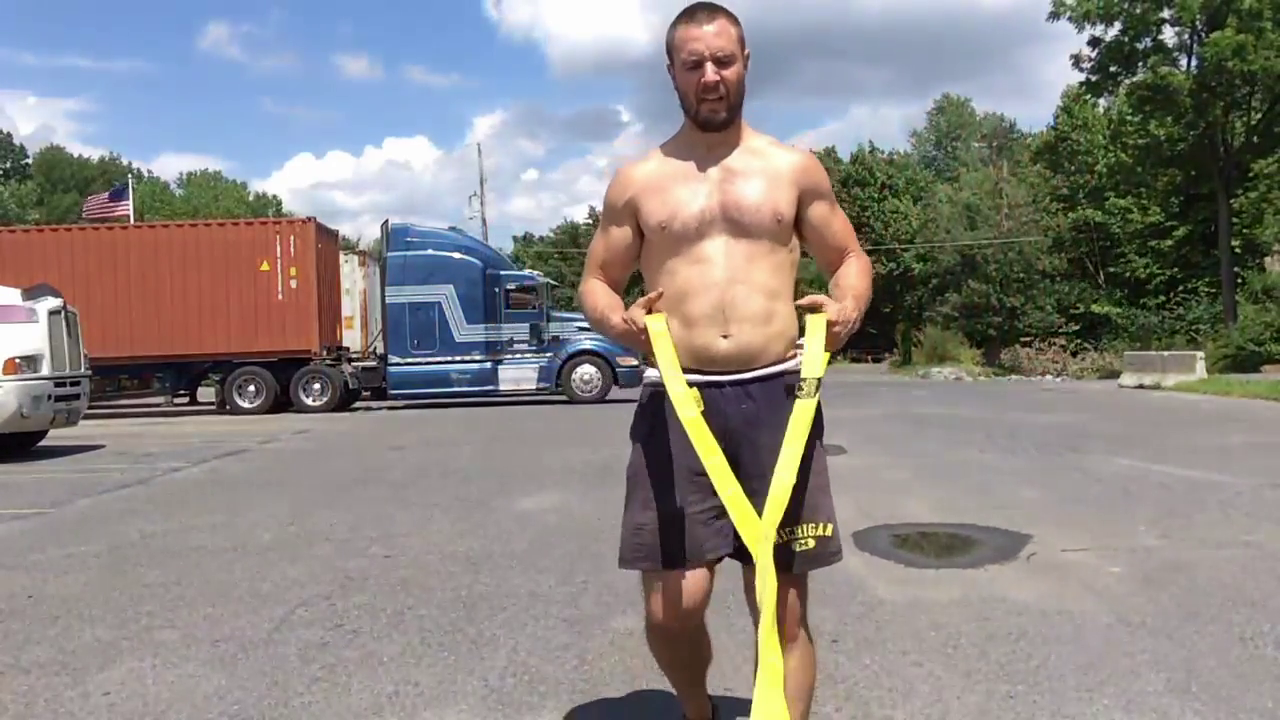 Nick Horowski Strongman 154 Strongman Training
