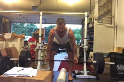 Nick Horowski Strongman 157 Upper Body Training