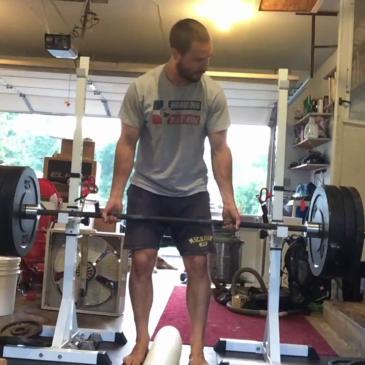 Nick Horowski Strongman 161 Upper Body Training