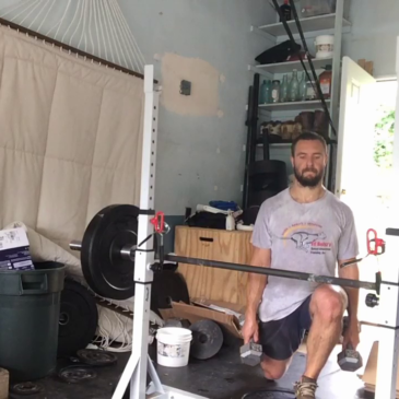 Nick Horowski Strongman 163 Lower Body Training