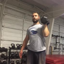 Nick Horowski Strongman 165 Upper Body Training