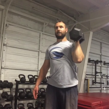 Nick Horowski Strongman 165 Upper Body Training