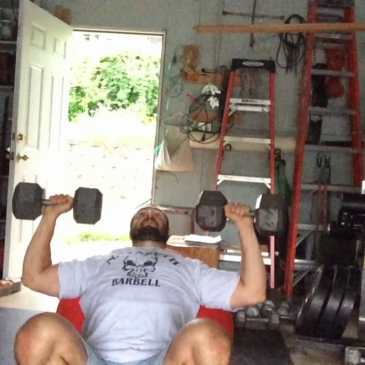 Nick Horowski Strongman 167 Upper Body Training