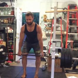 Nick Horowski Strongman 169 Lower Body Training
