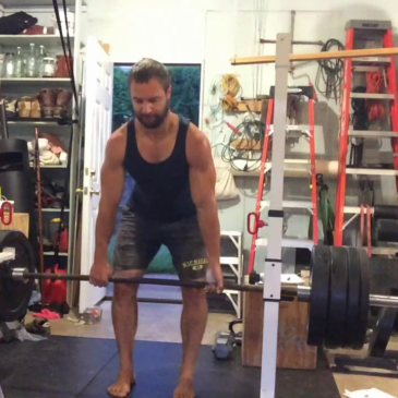 Nick Horowski Strongman 169 Lower Body Training