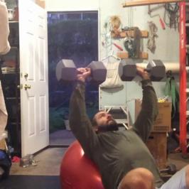 Nick Horowski Strongman 173 Upper Body Training