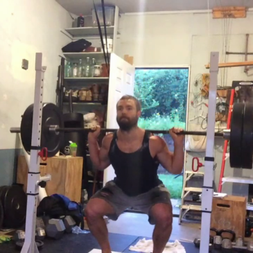 Nick Horowski Strongman Training 171 Lower Body Training