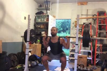 Nick Horowski Strongman Training 171 Lower Body Training