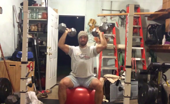 Nick Horowski Strongman 184 Upper Body Training
