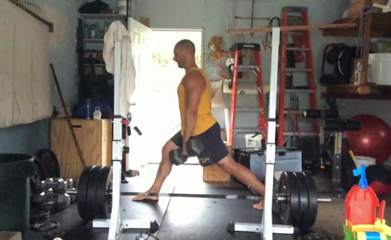 Nick Horowski Strongman 186 Lower Body Training