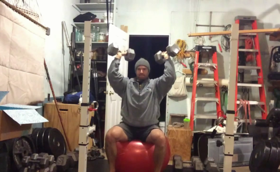 Nick Horowski Strongman 187 Upper Body Training