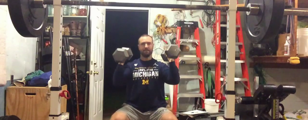 Nick Horowski Strongman 189 Upper Body Training