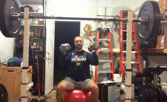 Nick Horowski Strongman 189 Upper Body Training