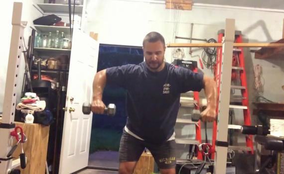 Nick Horowski Strongman 193 Upper Body Training