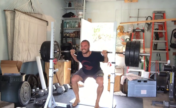 Nick Horowski Strongman Training 181 Lower Body Training
