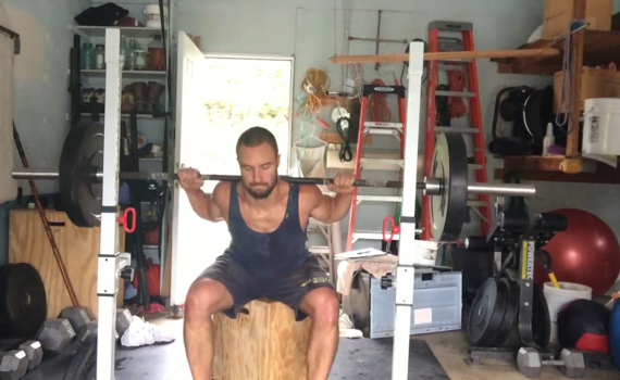 Nick Horowski Strongman Training 183 Lower Body Training
